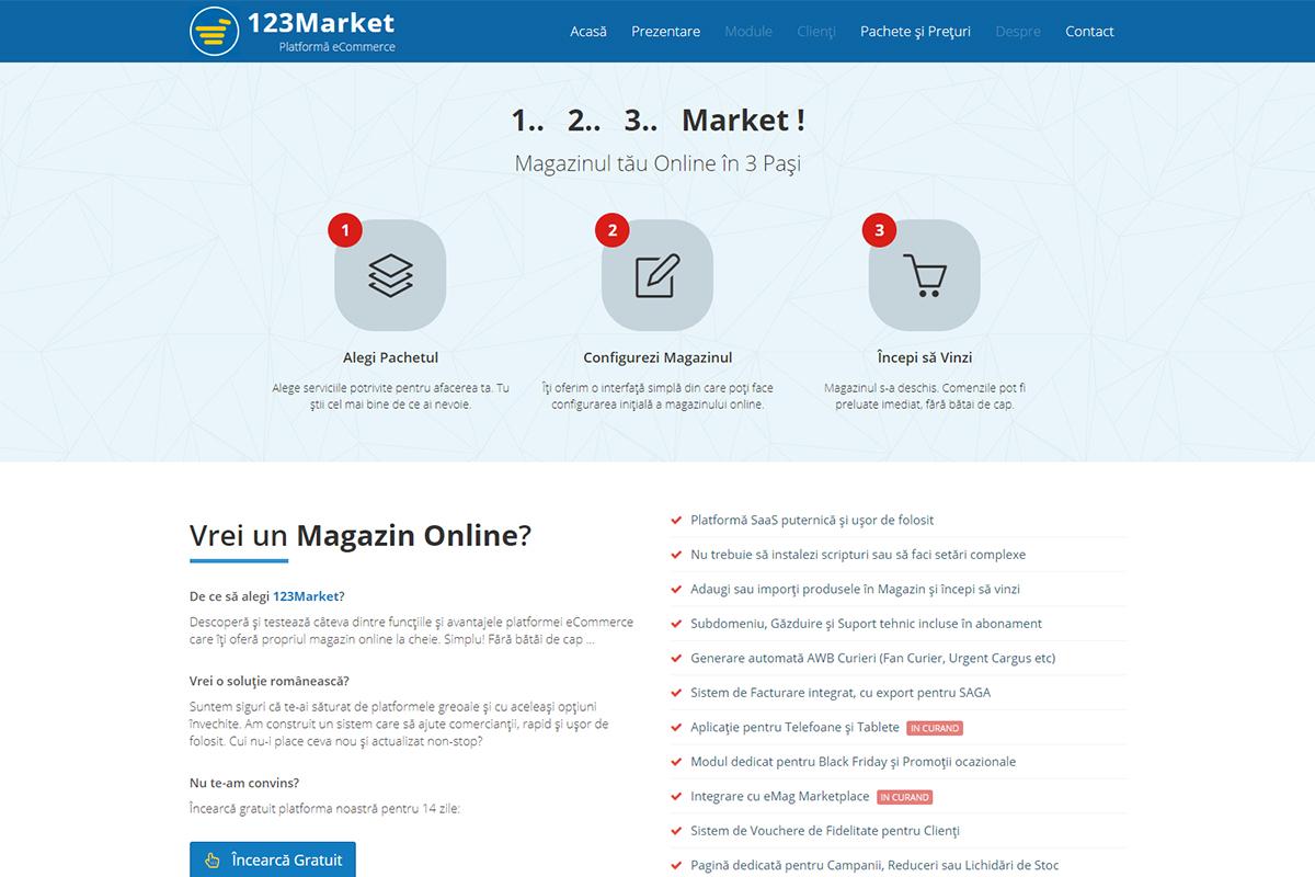 123Market - Platformă eCommerce