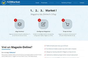 Platforma eCommerce - 123Market