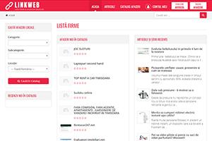 Listă Firme și Anunțuri Gratuite - LinkWeb